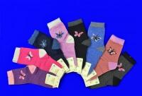 NPLUS  носки ангора + шерсть для девочек