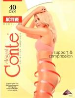 Колготки Conte ACTIVE 40 корректирующие черные
