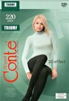 Колготки Conte TRIUMF 220 (микрофибра) черные