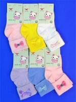 """FUTE носки детские с отворотом """"Бантики"""""""