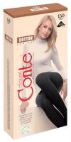 Колготки Conte Cotton 150 хлопок черные