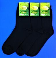Носки мужские с лайкрой чёрные