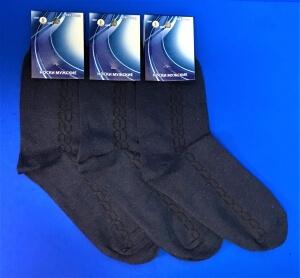 Золотая игла носки мужские с-104 джинс