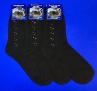 Ногинск носки мужские 100% хлопок Н-12 (Н-10) черные
