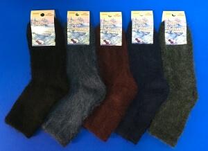 Ростекс (Рус-текс) носки женские с начесом без резинки Вж-6