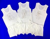 Комплект майка+трусы для мальчиков однотонный арт. КК 024