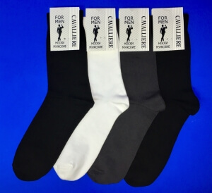 Кавалер носки мужские с-330 черные