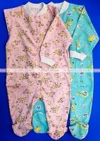 Комбинезон для новорожденных (слип) трикотаж 100% хлопок