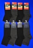 Кавалер носки подростковые Д-25 хлопок с лайкрой черные