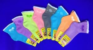 ЮстаТекс носки детские 3с14 внутри махра для девочек