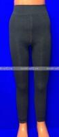 Зувей лосины детские Термо-кашемир внутри с мехом для девочек черные
