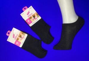 Ланю носки детские укороченные черные