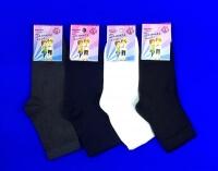 Золотая Игла носки подростковые с-401 с лайкрой черные