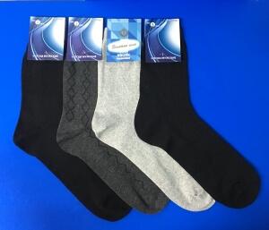 Золотая игла носки мужские с-103 СЕТКА черные