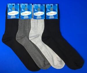 Золотая игла носки мужские с-203 черные