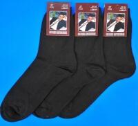 Носки мужские А-2 хлопок чёрные