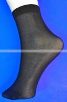 Носки женские Капрон черные дешевые