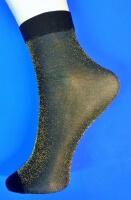 Носки женские эластик с люрексом