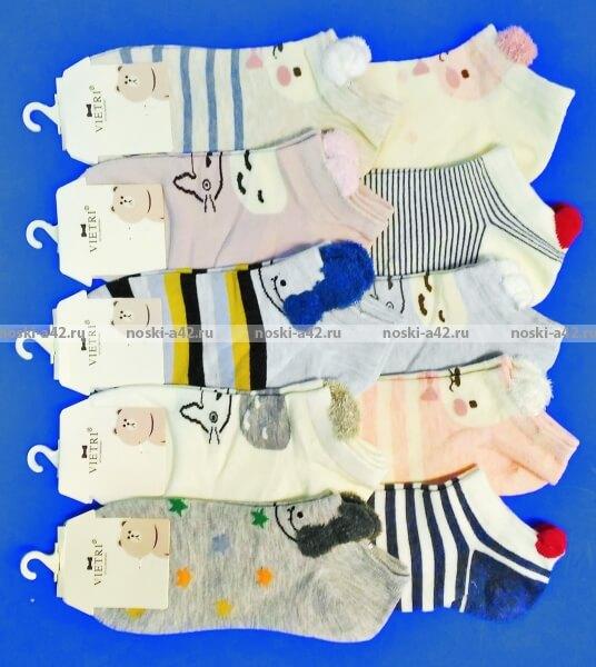 VIETRI носки женские Мордочки с