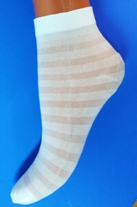 Носки детские эластик на девочек белые