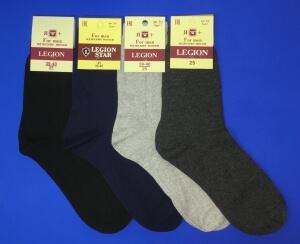 Легион носки мужские тёмно-серые