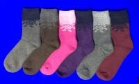Зувей носки женские внутри махра верблюжья шерсть арт. 2315