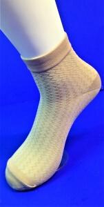 Витебск носки женские эластик бежевые