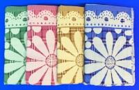 Полотенца махровые банные  Ромашки