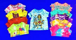 MUXSI KIDS футболки детские с НАДПИСЯМИ на девочек (5-8) - средние размеры