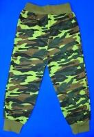 Спортивные брюки для мальчиков тренировочные Камуфляж