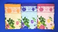 Полотенца махровые Цветы для лица