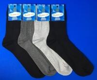 Золотая игла носки мужские с-203 светло-серые