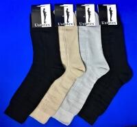 ЮстаТекс носки мужские 1с6 черные