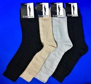 Юста носки мужские 1с6 бежевые
