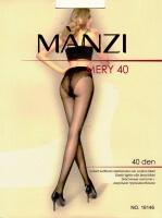 MANZI колготки женские MERY 40 den ЧЕРНЫЕ