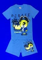 Костюмы для МАЛЬЧИКОВ: футболка и шорты (1-4 года)