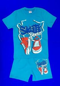 Костюмы для МАЛЬЧИКОВ: футболка и шорты (5-8 лет)