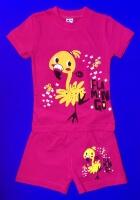 Костюмы для ДЕВОЧЕК: футболка и шорты (1-4 года)