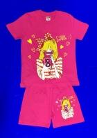 Костюмы для ДЕВОЧЕК: футболка и шорты (5-8 лет) или (6-9)
