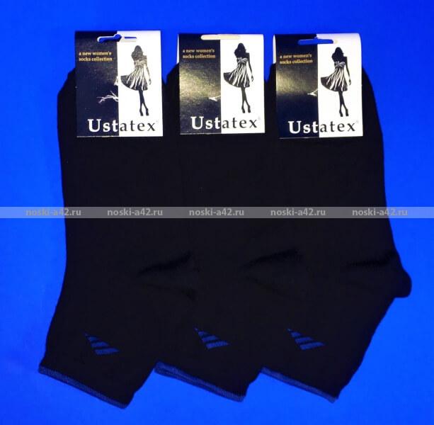 Юста носки женские 2с15 хлопок с лайкрой СПОРТ оптом