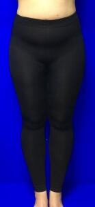 Лариса лосины женские кашемировые с начесом для полных женщин арт 510А