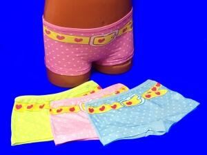 Детские трусы для девочек COOL KID арт. 8472 (8491) шортиками