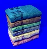 Полотенца махровые Подарочные для лица однотонные