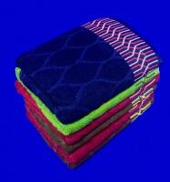 Полотенца махровые для лица однотонные