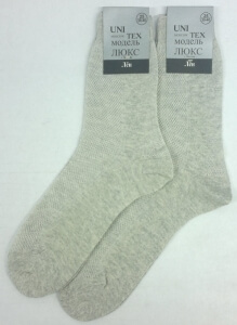 Юнитекс носки мужские М-35 лен