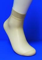 Alina ( AMAYI ) носки женские эластик бежевые №4 (в упаковке по 2 пары)