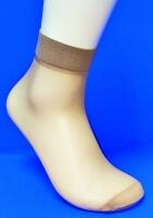 Alina ( AMAYI ) носки женские эластик загар №3 (в упаковке по 2 пары)
