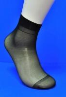 Alina ( AMAYI ) носки женские эластик черные №1 (в упаковке по 2 пары)