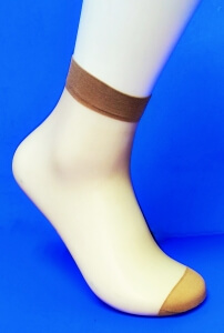 Alina носки женские эластик загар №3 (в упаковке по 5 пар)