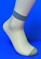 Alina носки женские эластик серые №7 (в упаковке по 5 пар)